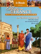 Histoire de France en bande dessinée -3- La Gaule Romaine de la Pax romana aux invasions barbares 51 av J.-C./451
