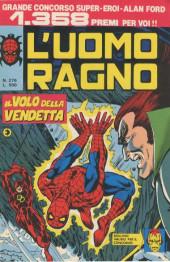 L'uomo Ragno V1 (Editoriale Corno - 1970)  -276- Il Volo della Vendetta