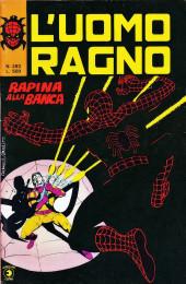 L'uomo Ragno V1 (Editoriale Corno - 1970)  -283- Rapina alla Banca
