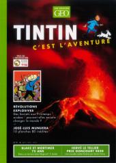 Tintin - Divers -Géo09- Tintin - C'est l'aventure - N° 9