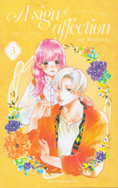 A sign of affection -3- Tome 3