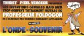 Mini-récits et stripbooks Spirou -MR4351- Professeur Foldogon - L'onde-souvenir