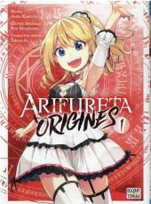 Arifureta : Origins -1- Tome 1