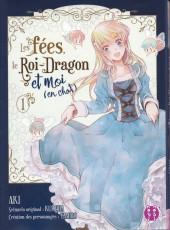 Les fées, le Roi-Dragon et moi (en chat) -1- Tome 01