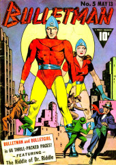 Bulletman (Fawcett - 1941) -5- The Riddle of Dr. Riddle