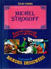 Édition adaptée pour la jeunesse, illustrée en bandes dessinées - Michel Strogoff