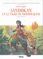 Les grands Classiques de la littérature en bande dessinée (Glénat/Le Monde) -35a2021- Sandokan et le tigre de Mompracem