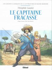 Les grands Classiques de la littérature en bande dessinée (Glénat/Le Monde) -11a2021- Le capitaine Fracasse