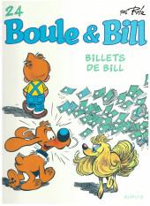 Boule et Bill -02- (Édition actuelle) -24d2020- Billets de Bill