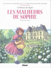 Les grands Classiques de la littérature en bande dessinée (Glénat/Le Monde) -45a2021- Les malheurs de Sophie