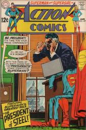 Action Comics (DC Comics - 1938) -371- The President of Steel!
