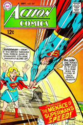 Action Comics (DC Comics - 1938) -367- The Menace of Superman's Speed!