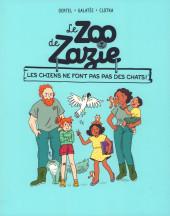 Le zoo de Zazie -3- Les chiens ne font pas pas des chats !