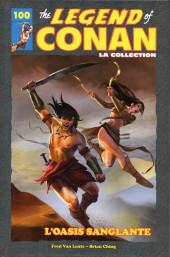 The savage Sword of Conan (puis The Legend of Conan) - La Collection (Hachette) -10025- L'Oasis sanglante