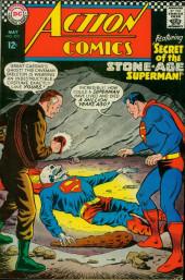Action Comics (DC Comics - 1938) -350- Secret of the Stone-Age Superman!