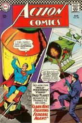 Action Comics (DC Comics - 1938) -348- Clark Kent, Fighting Federal Agent!