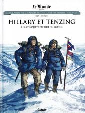 Les grands Personnages de l'Histoire en bandes dessinées -70- Hillary et Tenzing
