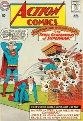 Action Comics (DC Comics - 1938) -327- The Three Generations of Superman!