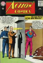 Action Comics (DC Comics - 1938) -323- Clark Kent in the Big House!