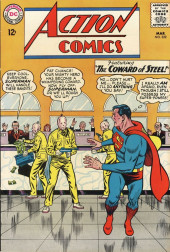 Action Comics (DC Comics - 1938) -322- The Coward of Steel!