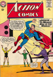 Action Comics (DC Comics - 1938) -321- The Weakest Man in the World!