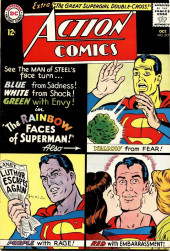 Action Comics (DC Comics - 1938) -317- The Rainbow Faces of Superman!