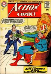 Action Comics (DC Comics - 1938) -312- King Superman Versus Clark Kent, Metallo!