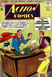 Action Comics (DC Comics - 1938) -302- The Amazing Confession of Super-Perry White!