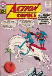 Action Comics (DC Comics - 1938) -293- The Secret Origin of Supergirl's Super-Horse!