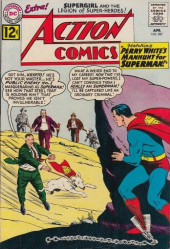 Action Comics (DC Comics - 1938) -287- Perry White's Manhunt for Superman!