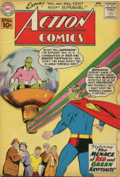 Action Comics (DC Comics - 1938) -275- The Menace of Red and Green Kryptonite!