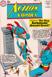 Action Comics (DC Comics - 1938) -265- The Day Supergirl Revealed Herself!