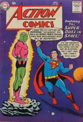 Action Comics (DC Comics - 1938) -242- The Super-Duel in Space!