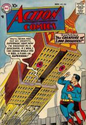 Action Comics (DC Comics - 1938) -234- The Creature of 1,000 Disguises!