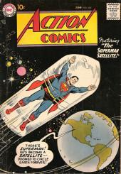 Action Comics (DC Comics - 1938) -229- The Superman Satellite!