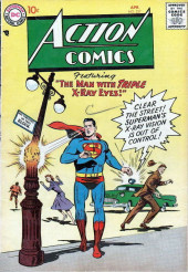 Action Comics (DC Comics - 1938) -227- The Man with Triple X-Ray Eyes!