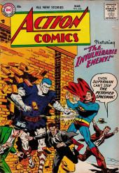 Action Comics (DC Comics - 1938) -226- The Invulnerable Enemy!