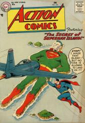 Action Comics (DC Comics - 1938) -224- The Secret of Superman Island!
