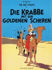 Tim und Struppi / Tim, der Pfiffige Reporter -9a1972- Die Krabbe mit den goldenen Scheren