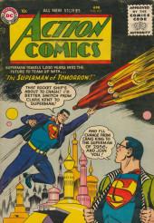 Action Comics (DC Comics - 1938) -215- The Superman of Tomorrow!