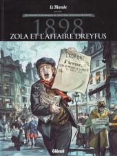 Les grands Personnages de l'Histoire en bandes dessinées -73- 1898 - Zola et l'affaire Dreyfus