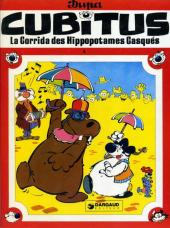 Cubitus -4a- La corrida des hippopotames casqués