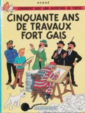 Tintin - Divers -HC- Cinquante ans de travaux fort gais
