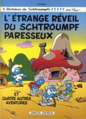 Les schtroumpfs -15- L'Étrange Réveil du Schtroumpf paresseux