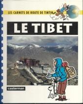 Tintin - Divers -Car04- Carnets de route : le Tibet