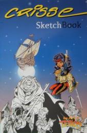 Tellos (Semic Comics) - Crisse - Sketch Book - The Art of Tellos