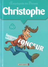 L'encyclopédie des Prénoms en BD -7- Christophe