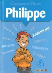 L'encyclopédie des Prénoms en BD -8- Philippe
