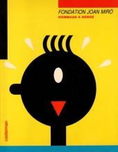 (AUT) Hergé -Cat- Fondation Joan Miró - Hommage à Hergé