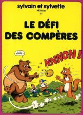 Sylvain et Sylvette -18- Le défi des Compères